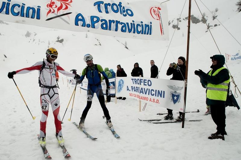 Trofeo Parravicini 2014 Pietro Lanfranchi Barazzuol arrivo skialp