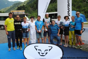 Skyrace Carnia Paluzza 2014 premiazione campionato taliano