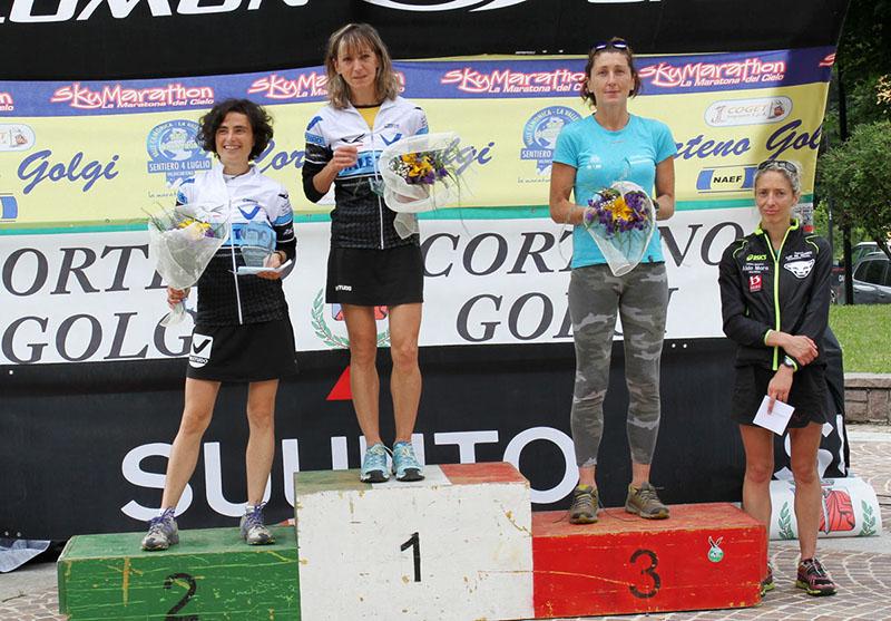 Sentiero 4 Luglio Corteno Golgi 2014 podioF maratona