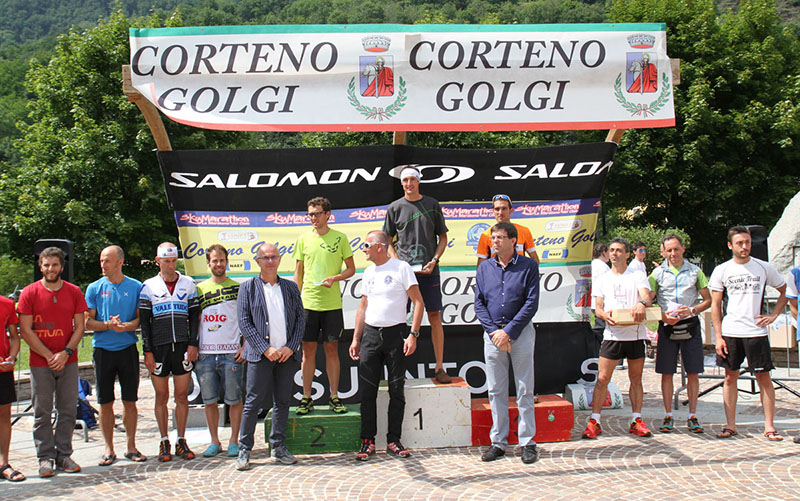 Sentiero 4 Luglio Corteno Golgi 2014 podioM maratona
