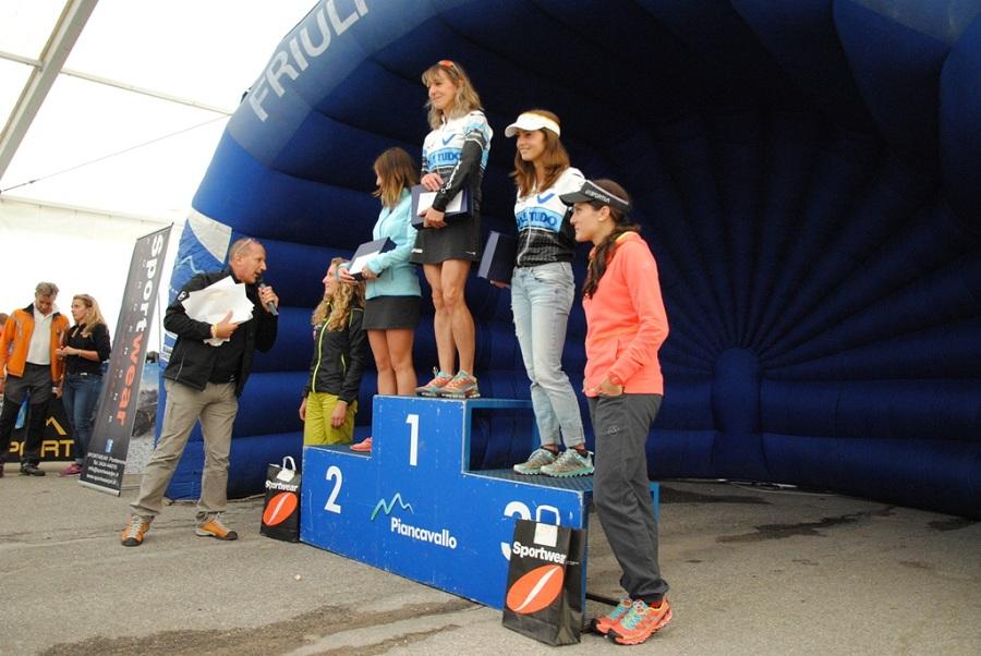 Skyrace monte Cavallo 2014 podio rosa foto Valetudo skyrunning Rosa