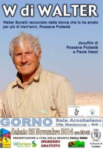 Walter Bonatti Gorno 2014