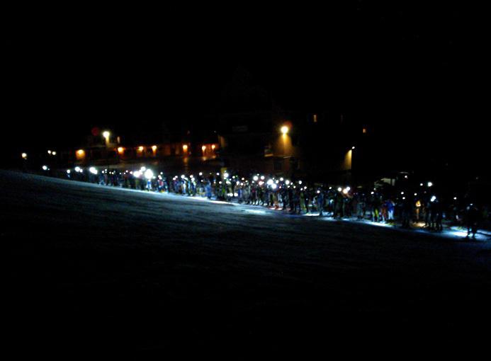 2015-01-14 Pronti....Via Partenza Montecampione skialp neve