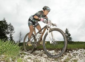 Lorenza Menapace alla 100 Km dei Forti - ph organizzazione