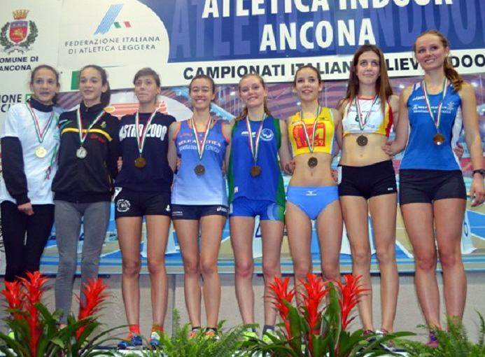 ancona 2015 campionati italiani allievi indoor pista photo credit Atletica Bergamo '59 Creberg