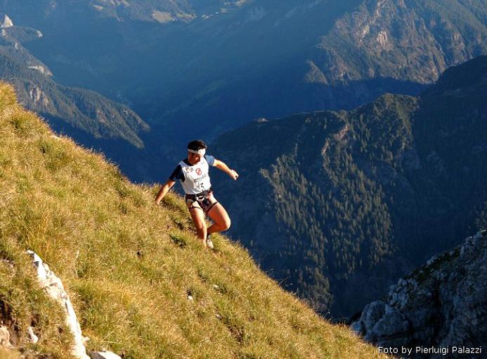 Maga Skymarathon 2009 discesa photo credit Pierluigi Palazzi
