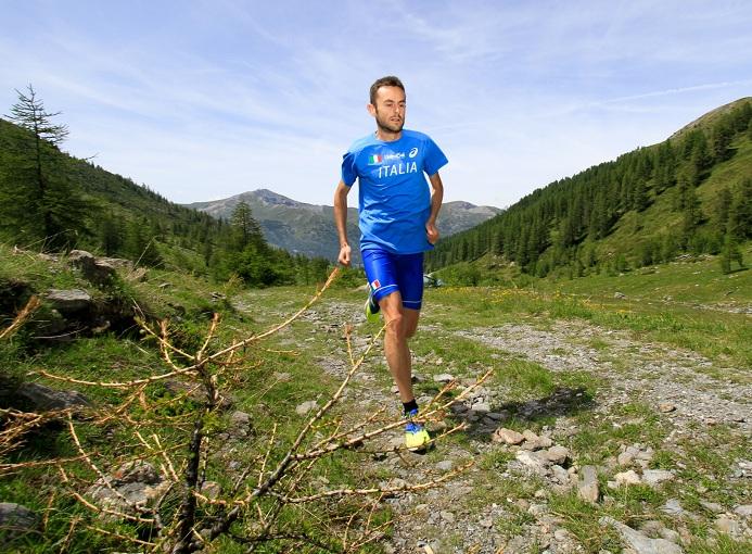 Alex Baldaccini in ritiro con la nazionale di corsa in montagna - ph. © Maurizio Torri