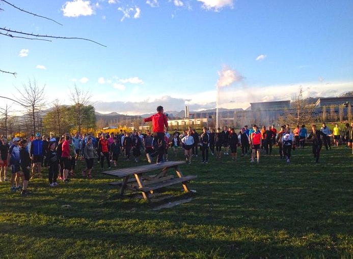 Bergamo Parco della Trucca da zero a diecimila 2 aprile 2015 Runners Bergamo (1 rid)