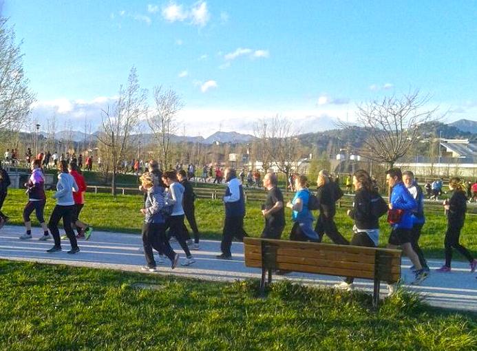 Bergamo Parco della Trucca da zero a diecimila 2 aprile 2015 Runners Bergamo (3 rid)