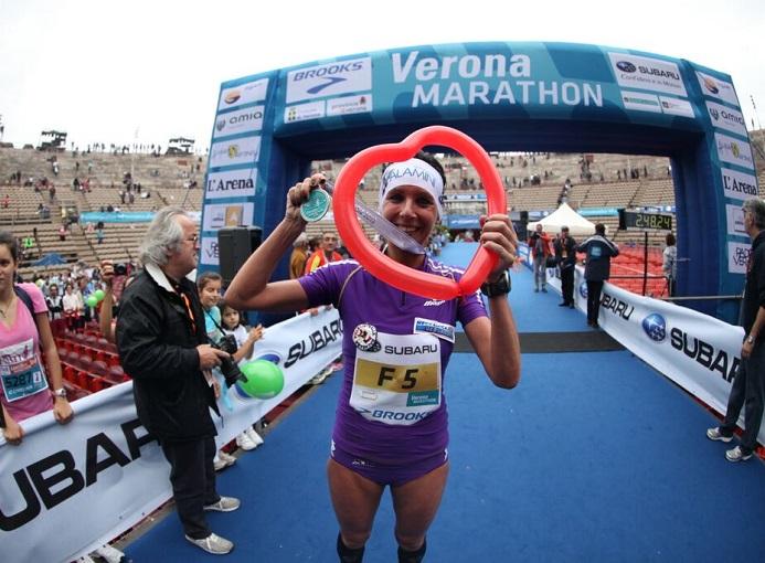 Eliana Patelli Veronamarathon 2013