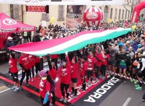 Maratona_Reggio_Emilia_2015_Tricolore prima della partenza