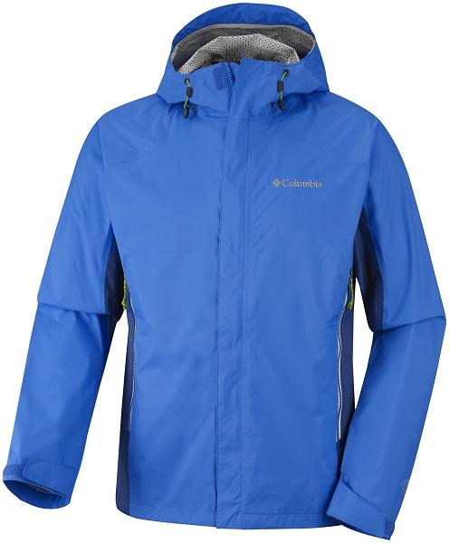 Antipioggia e traspirante: la Rainstormer jacket di Columbia