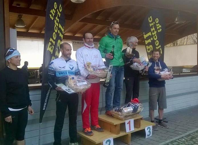 Electric Trail 2016 podio maschile 42k