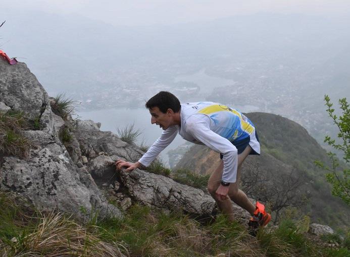 Benedetto Roda vincitore Monte Barro Running