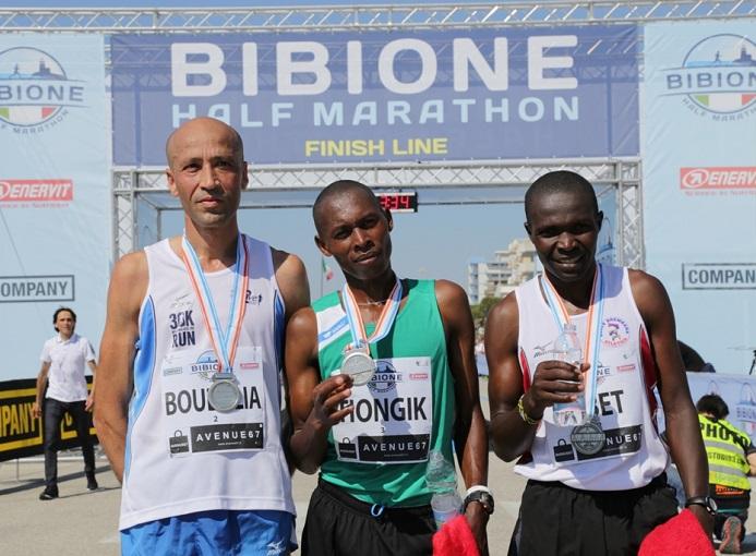 Bibione Half Marathon 2016 Podio Maschile