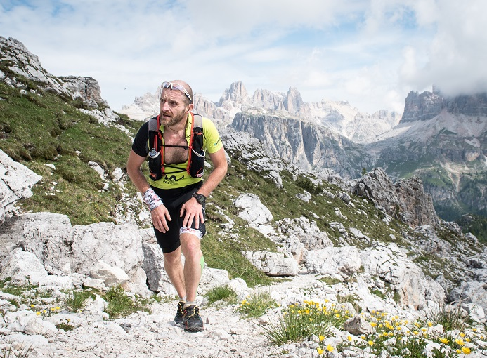 Marco Zanchi, Lavaredo Ultra Trail 2015 - ph. Areaphoto
