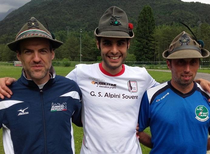 Alpini 2016 campionato italiano staffetta semperboni armati bosio