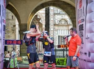 Marco Zanchi e Gediminas Grinius Orobie Ultra Trail Bergamo
