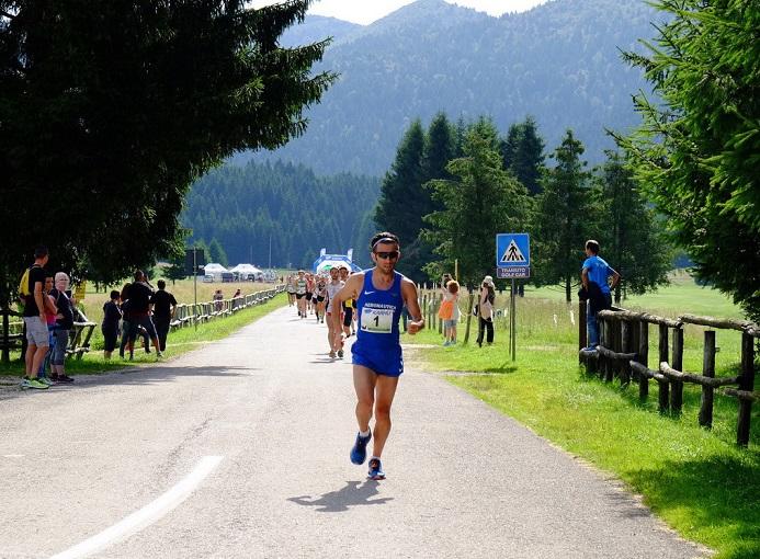 Domenico Ricatti, vincitore dell'edizione 2016 della Cansiglio Run