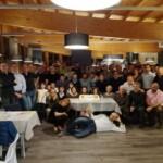 La cena sociale della Carvico Skyrunning asd