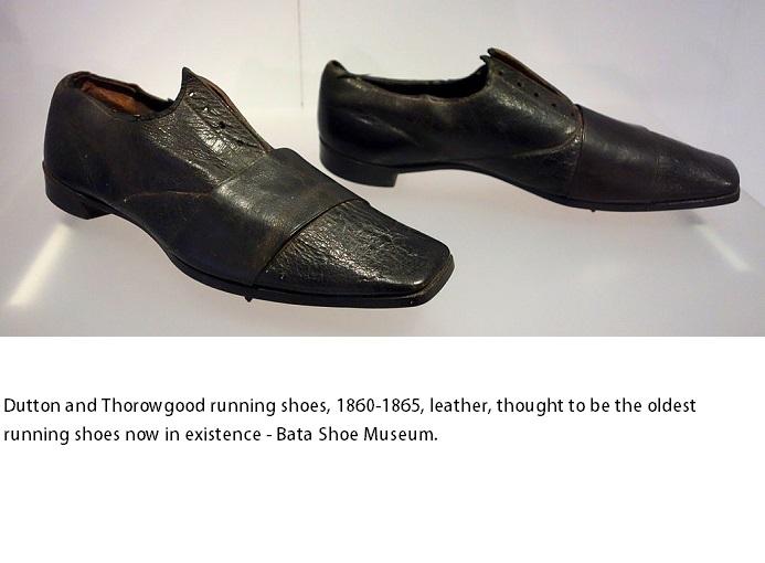 antiche scarpe da running