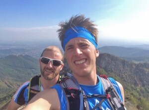 Marco Zanchi e Guido Caldara trail running