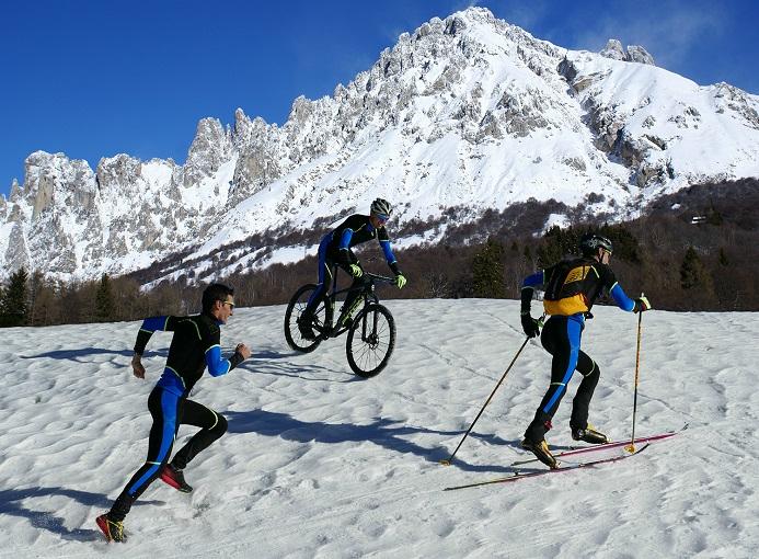 Snowman Resinelli team Pasturo