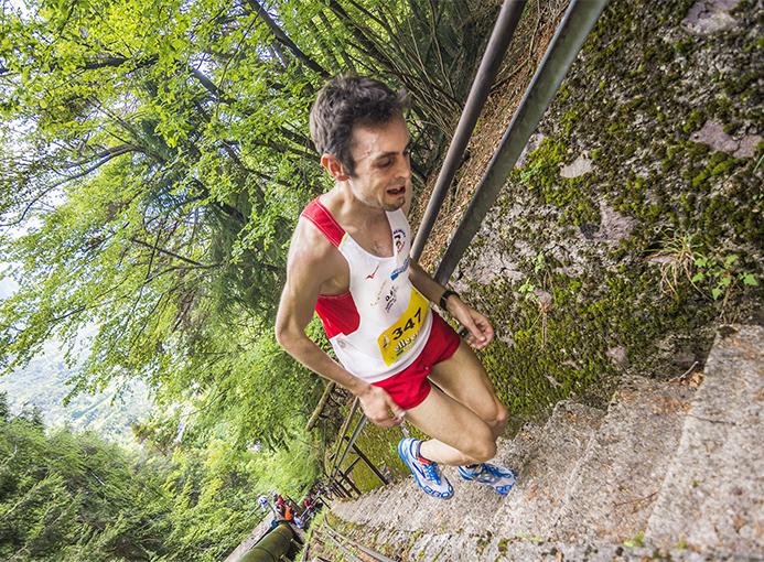La grinta e la sofferenza di Alex Baldaccini che realizza il miglior tempo di giornata alla 535 in Condotta - foto di Cristian Riva
