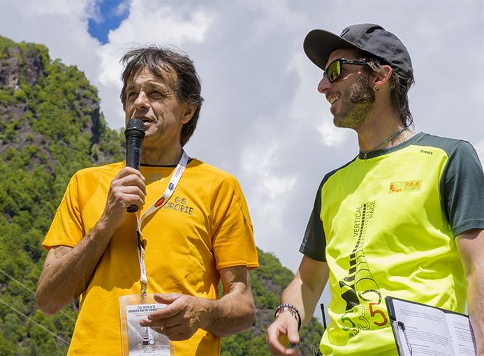 Gianfranco Baldaccini e the voice Juri Pianetti - foto di Cristian Riva