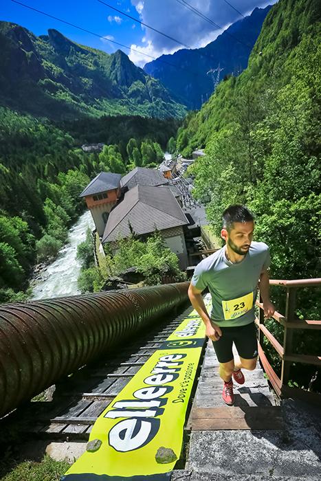 Vista sulla Centrale idroelettrica Enel di Bordogna - foto di Pio Rota