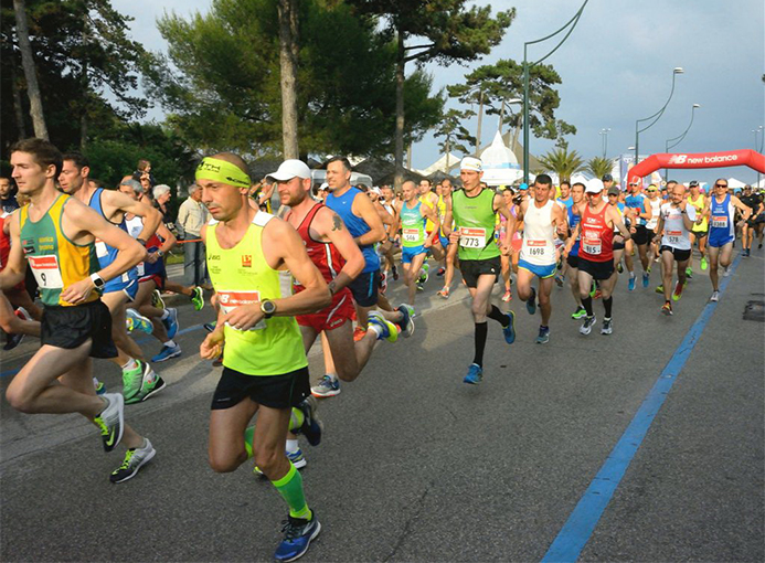 Lignano Sunset Run 2016_ partenza