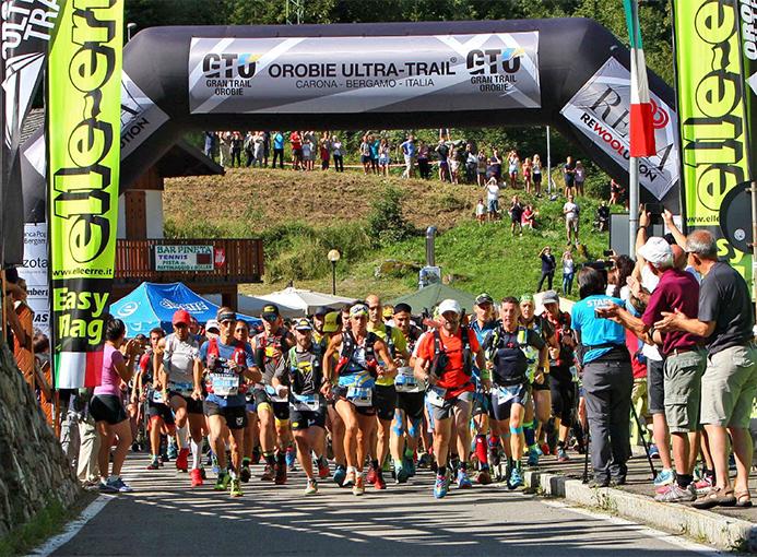 La partenza del GTO da Carona - Orobie Ultra Trail