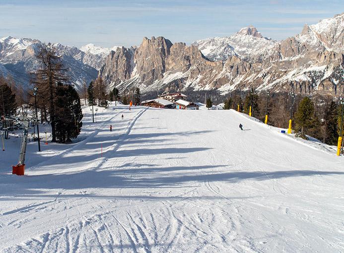 Cortina d'Ampezzo pista Tondi