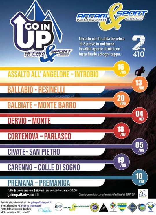 circuito Go In Up Affari & Sport
