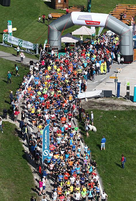 Dolomites Saslong Half Marathon