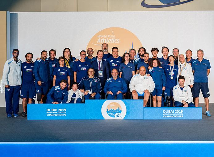 atletica paralimpica gli azzurri a dubai