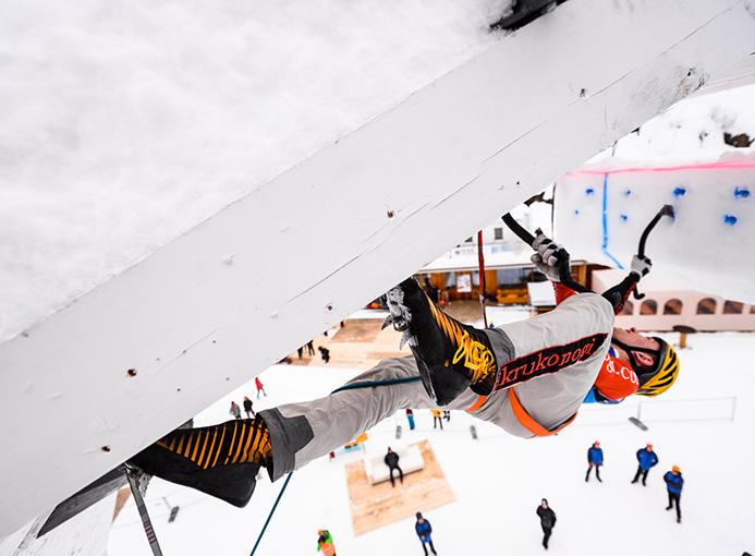 torre ghiaccio corvara climbing