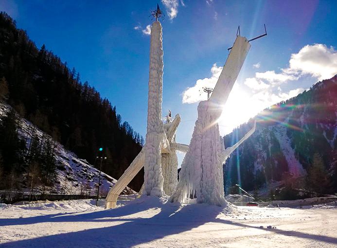 torre ghiaccio corvara