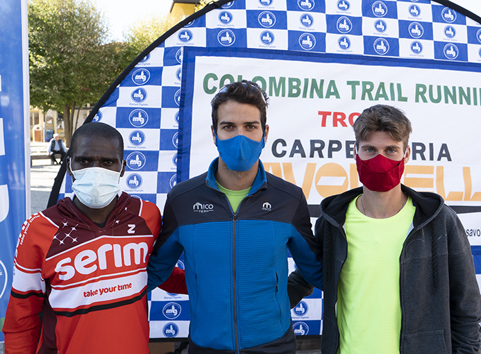 colombina trail running podio maschile