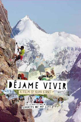 poster del film Dejame Vivir di Kilian Jornet Burgada