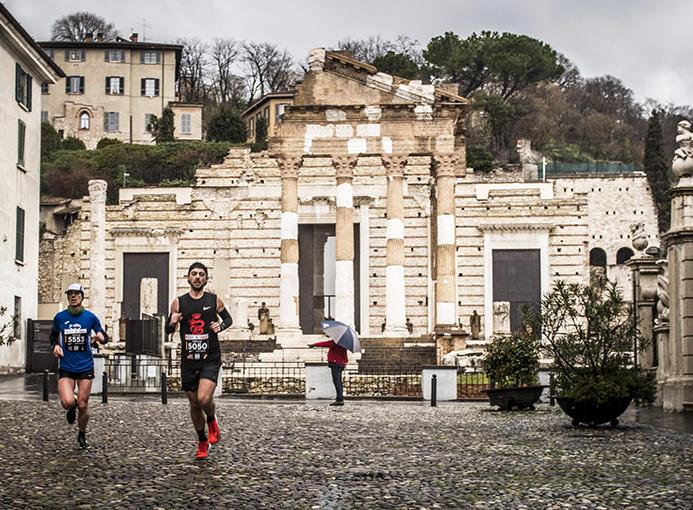 brescia marathon sul percorso tempio capitolino