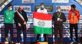 premiazione campionati italiani maratona a Reggio Emilia