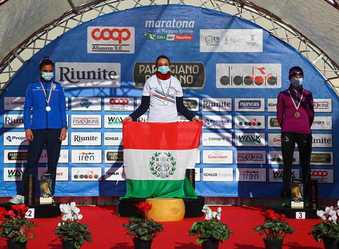 maratona reggio emilia giovanna epis campionessa italiana