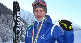 Luca Tomasoni scialpinismo medaglia tricolore