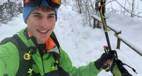 Luca Tomasoni scialpinismo