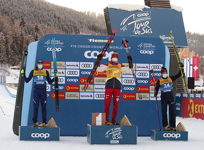 tour de ski val di fiemme podio men