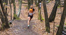 Barbara Bani al Colmen Trail di Morbegno nel 2019