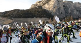 partenza sellaronda skimarathon 2019