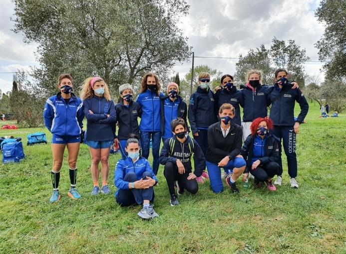 Atletica Paratico Campi Bisenzio gruppo femminile