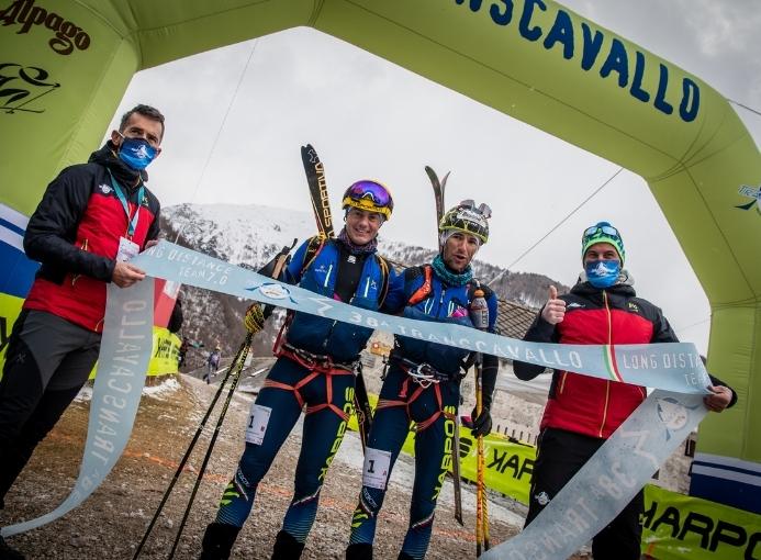 Transcavallo vincitori Boscacci Eydallin